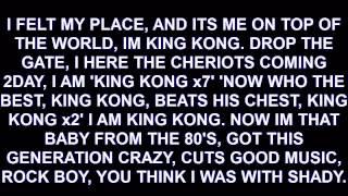 Destorm - King Kong LYRICS