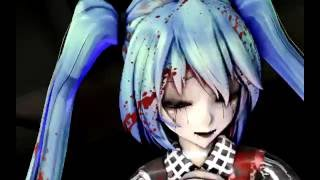【MMD】 The Zombie Song   初音ミク Hatsune Miku + [DL's]