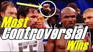 The Most Controversial Wins In Boxing History/Most Undeserved Wins