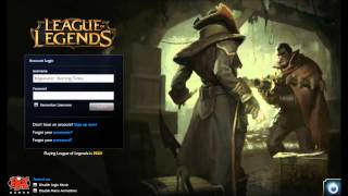 League of Legends Bilgewater Graves Twisted Fate Login Screen + Music