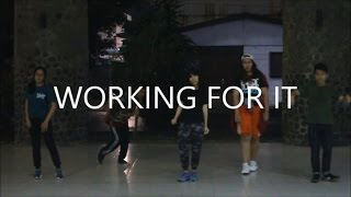 Choreography: Working For It - Rich Chigga X Skrillex X Zhu. X They. (by Vashti Anggita)