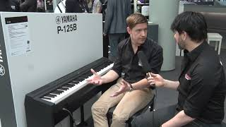 Yamaha P-125 Digital Piano Musikmesse | Prolight+Sound 2018 (english)