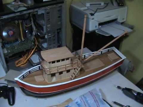 ahşap rc tekne inşaatım 3 my rc boat