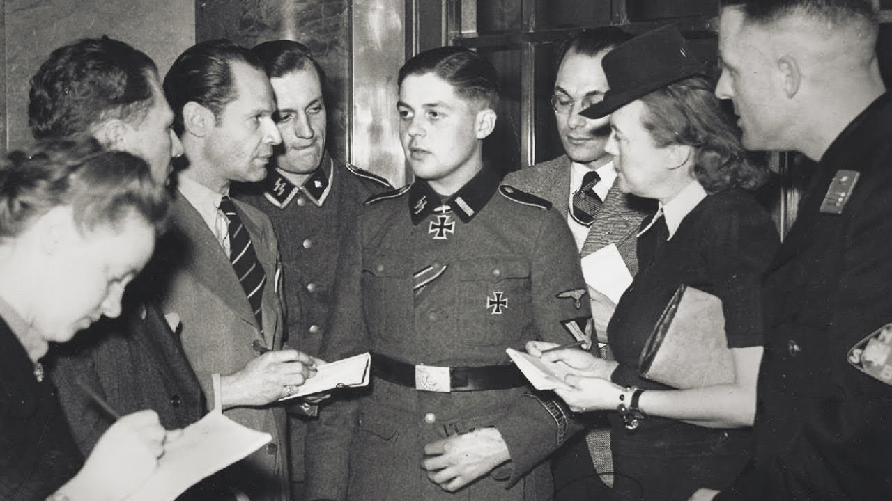 The Dutch Boy who received the German Knight's Cross - World War II