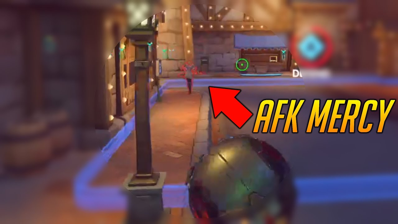harbleu - WHY YOU DON'T GO AFK ON POINT - Overwatch