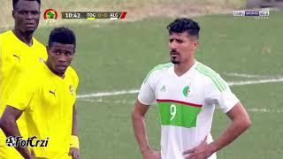 ملخص مباراة الجزائر وتوجو 4 1   ثنائية محرز   حفيظ دراجي