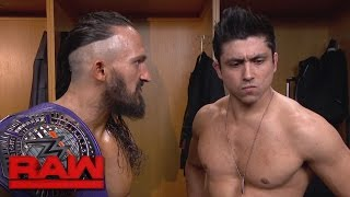 "Neville wants TJP to ""finish"" Austin Aries on 205 Live: Raw, May 15, 2017"