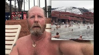 World's Largest Hot Springs with Brad at Glenwood Hot Springs Pool