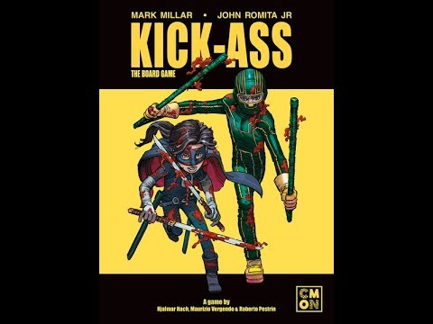 Reseña Kick-Ass: The Board Game