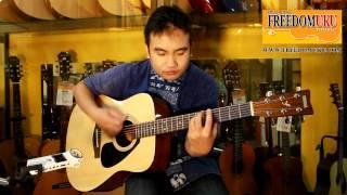 [Music Review] กีตาร์โปร่ง Yamaha F-310 by Freedom Uku Music