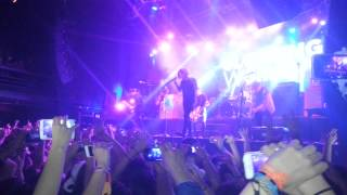 Sleeping With Sirens - if you can't hang live Argentina 2015