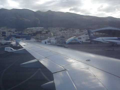 Arrival to Quito International Airport