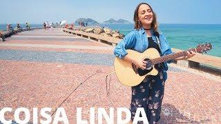 Coisa Linda - Tiago Iorc (Bárbara Dias cover acústico) Nossa Toca na Rua