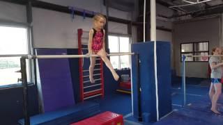Lillian Mc USA Gym Level 2 Bars Practice