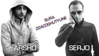 Arsho feat. Serjo - Sura Zgacoghutyune (Audio) // Armenian Rap // HF Exclusive Premiere // HD