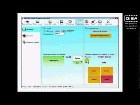 SOFTCARD - Cambiare il tipo di credito di una tessera
