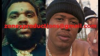 """Kevin Gates DISSES Master P & C-Murder """" He may caught a body but he dont scare me,yall pull up"""""""