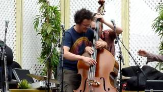 four hands double bass