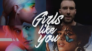 Girls Like You (The Megamix) - A.Grande · Camila · J. Bieber & More (T10MO)