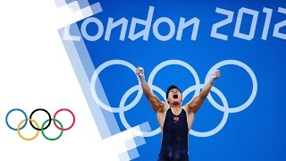 China's Lu Xiaojun Wins Men's 77kg Weightlifting Gold - London 2012 Olympics