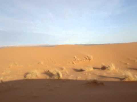 No meio do Saara