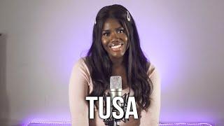 TUSA  - @KAROL G ft @Nicki Minaj (Cover by Laura Djae)