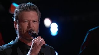 "The Voice US Live Final Performances - Blake Shelton ""She's Got a Way with Words"""