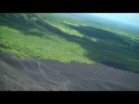 Volcano Boarding Helmet Cam – Cerro Negro, Nicaragua