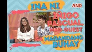 Ina ni Iñigo Pascual, nag-guest sa 'Magandang Buhay'