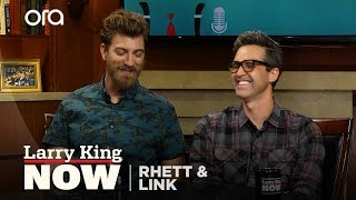 Rhett and Link on changing the perception around Youtube