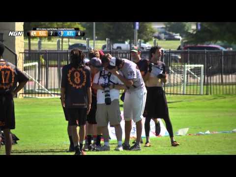 Video Thumbnail: 2014 National Championships, Men's Quarterfinal: Atlanta Chain Lightning vs. Raleigh Ring of Fire