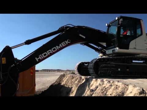 HMK 370 LC HD-Yöntaş İnşaat- Konya İsmil Kasabası Hotamış Depolaması İnşaatı