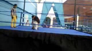 Mi primera lucha en CELL (mitad del video)