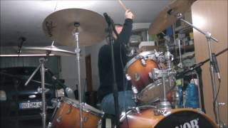 bowling for soup - punk rock 101 (drum cover )