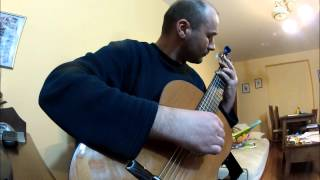 Parla Più Piano - classical guitar cover