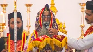 Holy Qurbana - Celebrated by H.G.Dr.Yuhanon Mar Chrysostomos width=