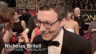 'Moonlight' composer Nicholas Britell at the Oscars