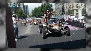 ''Dakar 2013'' The finish of the Maxxis SuperB Dakar team - Live footage