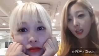 PRISTIN's Yuha & Eunwoo - Oppa ya aegyo