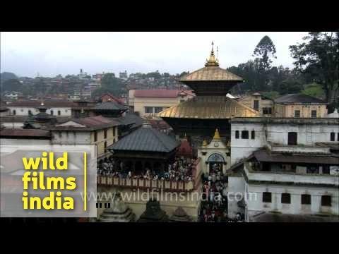 Pashupatinath Temple in Kathmandu, Nepal