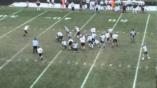 Ottawa Eagles vs. Morris Redskins 2011