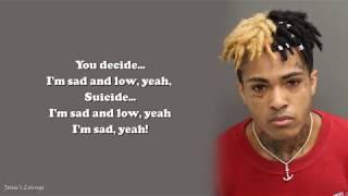 xxxtentacion - sad! lyrics