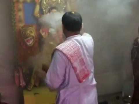 Jagadhatri Puja2/2  ヒンズー教の行事 Rajshahi BANGLADESH 2012