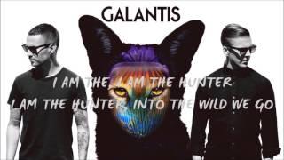 HUNTER - GALANTIS LYRICS