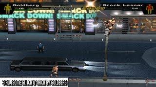 3 Awesome Glitch & Trick By Goldberg | WWE SD! HCTP 2003 |