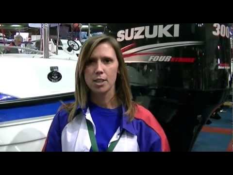 Suzuki South Africa exhibit Outboard Motors at National Boat Show 2011