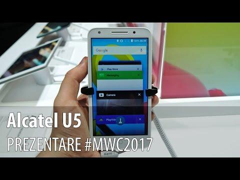 Alcatel U5 - Prezentare hands-on