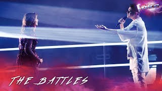 The Battles: Mikayla Jade v Sheldon Riley 'Diamonds' | The Voice Australia 2018