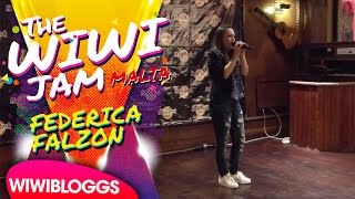 "Federica Falzon covers ""Pacify Her"" at the Wiwi Jam, Hard Rock Cafe Malta"
