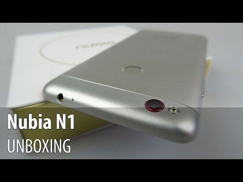 Nubia N1 Unboxing în Limba Română